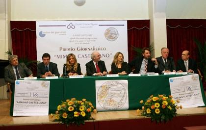 """Premio Giornalistico """"Mimmo Castellano"""" a Pagani"""