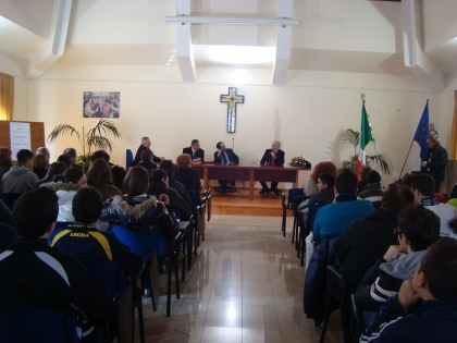 Il Procuratore Antimafia di Palermo Antonio Ingroia ad Angri