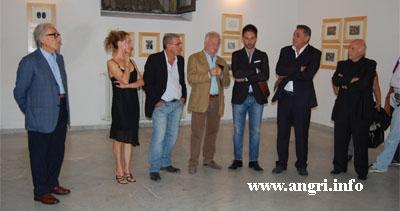"""Inaugurata la mostra """"Segni e Materie Incise"""""""