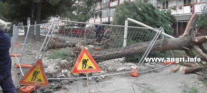 Rione Alfano, l'Amministrazione Comunale ringrazia  i dipendenti  e i volontari accorsi subito