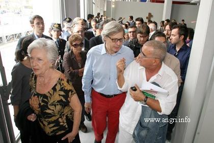 """Exploit di pubblico alla Mostra """"Lo stato dell'Arte in Campania"""" a Pontecagnano"""