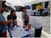 Delegazione del Circolo angrese di Fratelli D'Italia-An a Roma