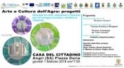 """Al via il 1° workshop  """"Arte e Cultura dell'Agro"""""""