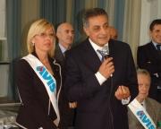 10 anni dell'AVIS ad Anzio, un'angrese presidente.