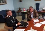 L'Amministrazione Comunale di Angri dà il benvenuto al nuovo Comandante della Stazione dei Carabinieri Alessandro Buscema