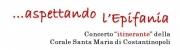 Concerto itinerante  della Corale S. Maria di Costantinopoli