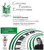 Angri, al via la X Edizione del Concorso Pianistico Europeo