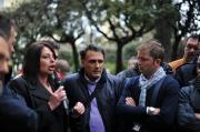 I lavoratori CSTP incontrano Caldoro e Cirielli a Nocera Inferiore