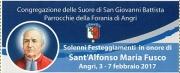 Solenni Festeggiamenti in onore di Sant'Alfonso Maria Fusco
