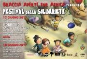 """Angri, al via la VI Edizione del Festival della Solidarietà """"Braccia Aperte for Africa"""""""