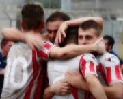 L'Angri batte l'Audax Salerno (1-0) e conquista la vetta della classifica