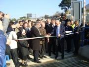 Taglio del nastro per il nuovo casello autostradale Angri Sud