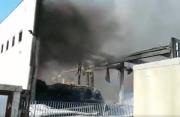 Angri. Incendio in via Taurano, nessun danno ambientale