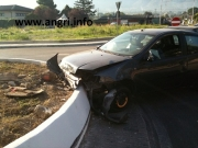Spaventoso incidente in Via Badia