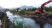 Rio Sguazzatoio, il Sindaco di Angri ordina alla Regione e al Consorzio di Bonifica la rimozione immediata dei detriti dall'alveo