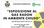Angri, convegno informativo sugli obblighi relativi all'esposizione al gas radon