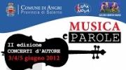 Musica e Parole, II Edizione Concerti d'autore
