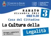 """""""La Cultura della Legalità"""" presso la  Casa del Cittadino"""