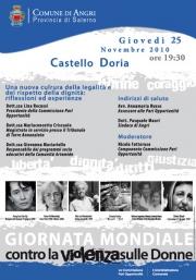 Una nuova cultura della legalità e della dignità, convegno al Castello Doria