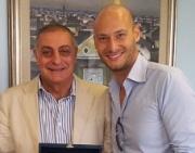 L'Amministrazione comunale premia il regista Fabio Massa