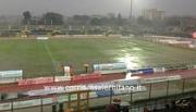 Stadio San Francesco allagato, Nocerina Prato rinviata