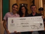 """La I edizione del concorso """"Uno spot per Pompei"""" vinta da due giovani studenti angresi."""