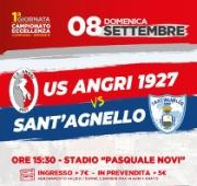 """Angri-Sant'Agnello, c'è molta attesa per la """"prima"""" di campionato"""