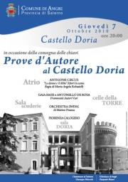 """""""Prove d'Autore"""" al Castello Doria per la consegna delle chiavi"""