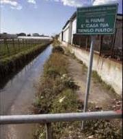 Ancora inquinamento del fiume Sarno