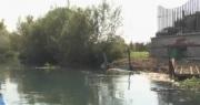 Lavori di risanamento del Sarno al confine tra Angri e Scafati