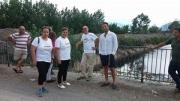 Fiume Sarno, sopralluogo degli attivisti del M5S di Angri