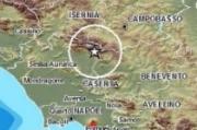 Scossa di terremoto nel Casertano, magnitudo 5,0