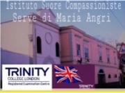 Angri, corso di potenziamento della lingua Inglese presso l'Istituto Suore Compassioniste Serve di Maria