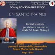 Angri, Recital Musical per Sant'Alfonso Maria Fusco