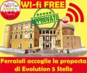 Wi-fi libero, Evolution 5 Stelle Angri plaude all'Amministrazione